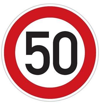 Rychlost 50 km/h