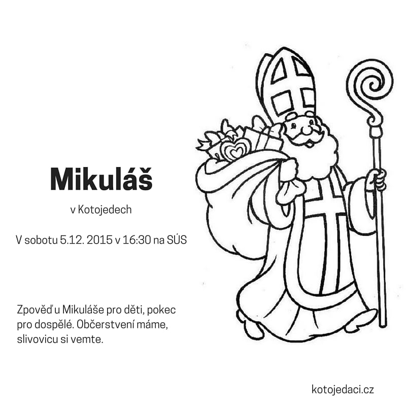 Thumbnail for the post titled: Mikuláš v Kotojedech 2015